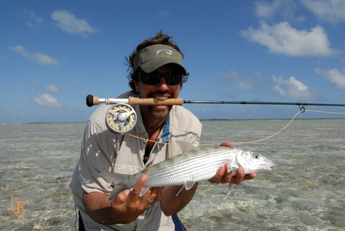 Not the first bonefish, but fun